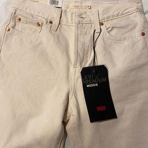 Brand new creme pants